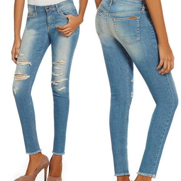 fdd512a9805 Joe's Jeans Jeans | Joes Distressed Frayed Hem Skinny Ankle | Poshmark